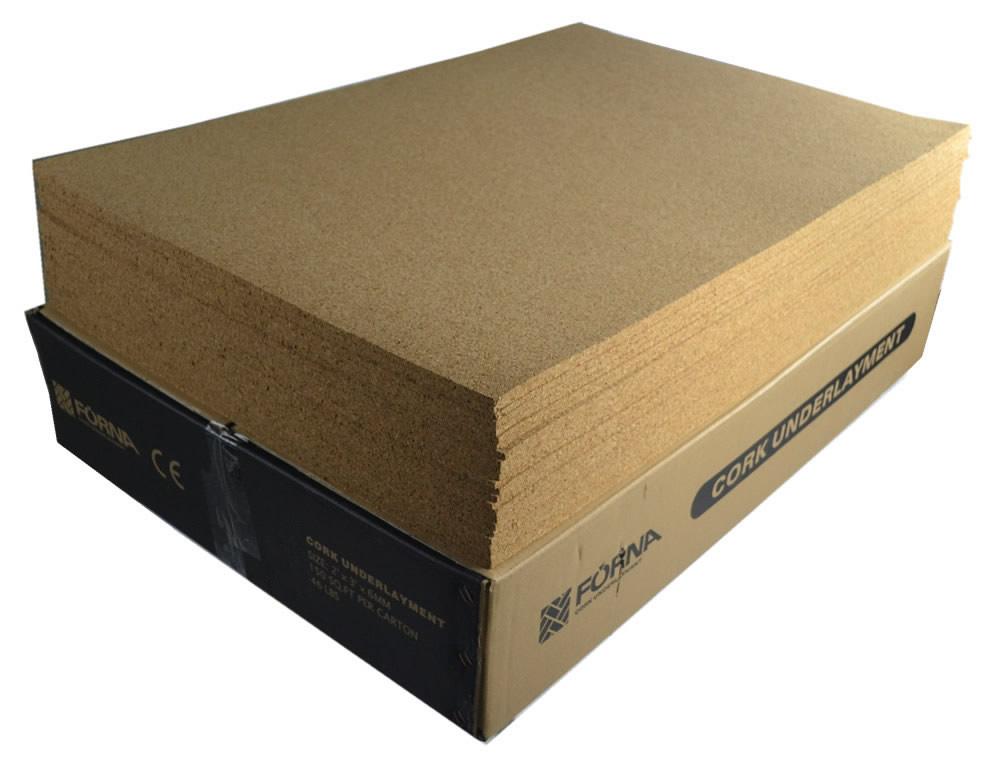 6mm 1 4 inch 2ft x 3ft sheet cork underlay 150 per for 6mm wood floor underlay
