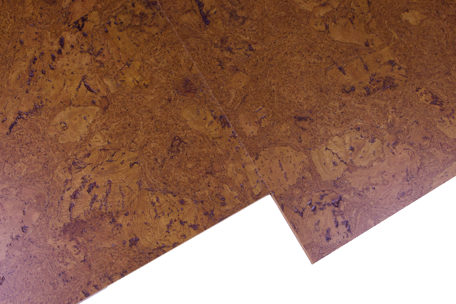 Autumn Ripple Cork Flooring Tiles 8mm