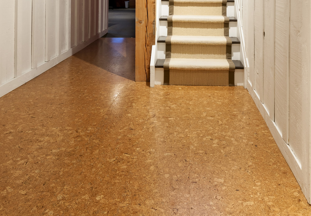 Autumn leaves 12mm luxury floating floor per for Cork floor tiles