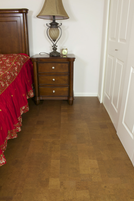 ... Floating Cork Floor Autumn Leather ...
