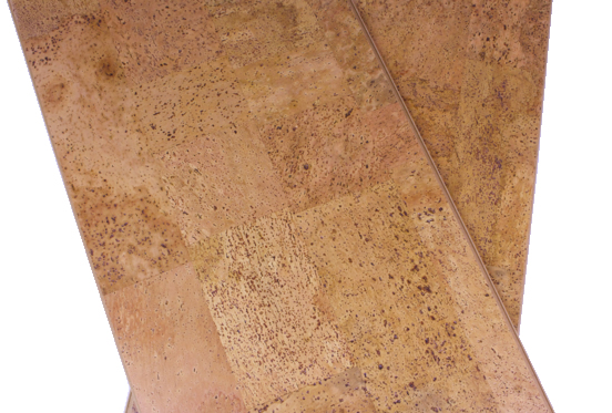 Leather 12mm cork floating floor per box for Leather flooring cost
