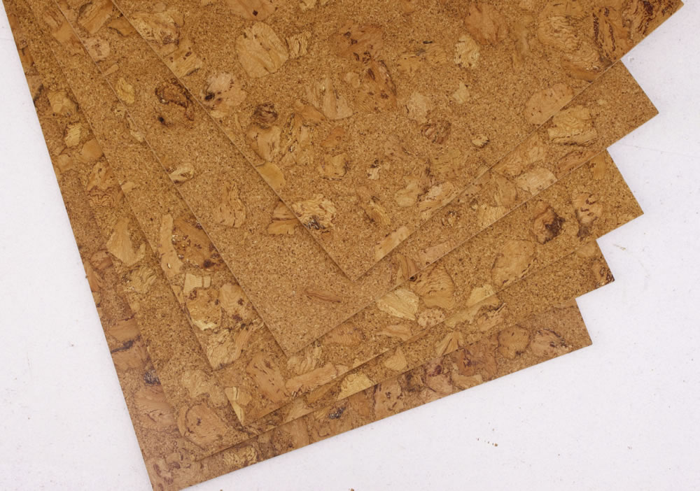 Sand marble glue down cork tile per package for Cork floor tiles